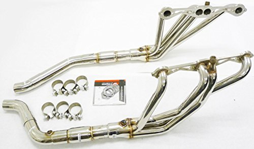 OBX Performance Exhaust Manifold Header Full Length 92- 96 Chevy Corvette C4 LT1 /LT4 C ()
