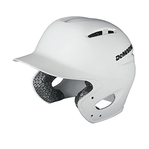 - DeMarini Paradox Batting Helmet, White, Small/Medium