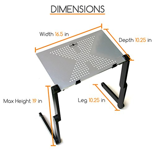 QuickLIFT Podium Portable Lectern Desktop Stand for Office / Conference with Adjustable Height for Reports / Books / PC ! Includes Stylus by MyDeal (Image #2)