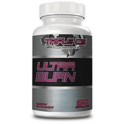 Ultra Burn Pre-Workout Supplement - with Caffeine, Raspberry Ketones, Garcinia Cambogia, Green Tea Extract, and Cayenne Red Pepper - Helps Your Body Burn Fat, Increases Energy - 60 Capsules