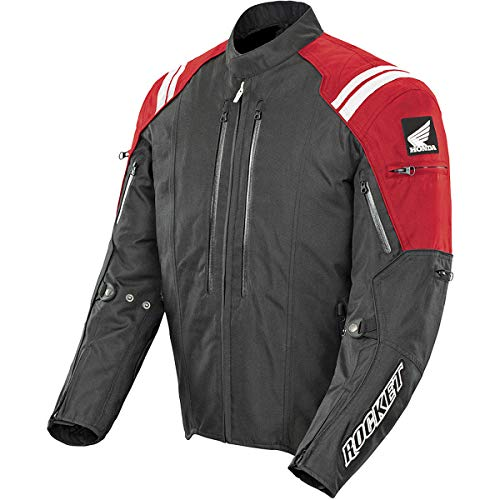(Joe Rocket Honda CBR Textile Jacket (X-Large) (RED/Black))