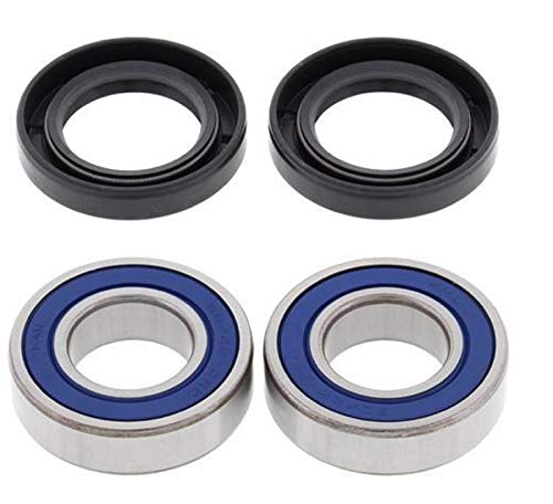 2000-2001 Kawasaki Mule 520 FRONT WHEEL BEARING KIT, Manufacturer: ALL BALLS, Manufacturer Part Number: 25-1403-AD, Stock Photo - Actual parts may vary.