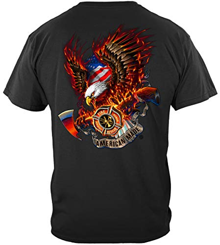 Firefighters | Patriotic fire Eagle American Made Shirt ADD103-FF2062XXXL