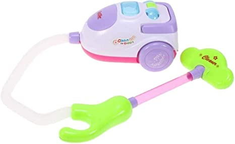 Hukitech - Aspirador infantil con función de succión (luz y música ...