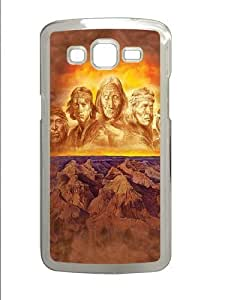 Grandfathers Native American Custom Samsung Grand 7106/2 Case Cover Polycarbonate Transparent