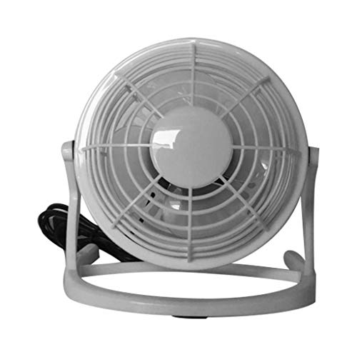 Topgee Mini USB Desk Fan Small Quiet Personal Cooler USB Powered Portable Table Fan Special Design for Gift