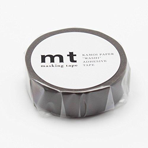 Brown Scrapbooking - MT Solids Washi Paper Masking Tape 3/5