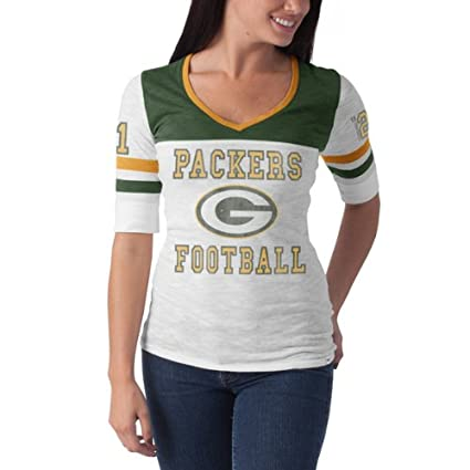 c18e45206c199 Amazon.com : NFL Green Bay Packers Women's Debut Tee : Clothing