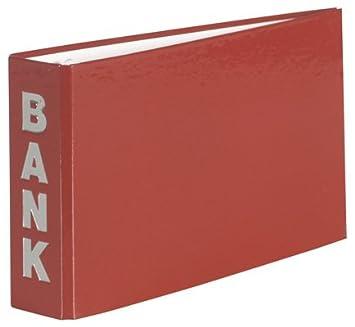 Banco carpeta 140 x 250 mm archivador para extractos bancarios bourdeaux: Amazon.es: Oficina y papelería