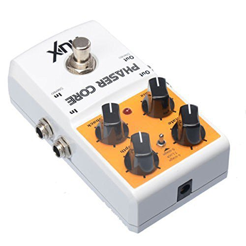 NUX Phaser Core Guitar Effects Pedal Modulation Stomp Effect Pedal Tone Lock Preset Function True Bypass by NUX