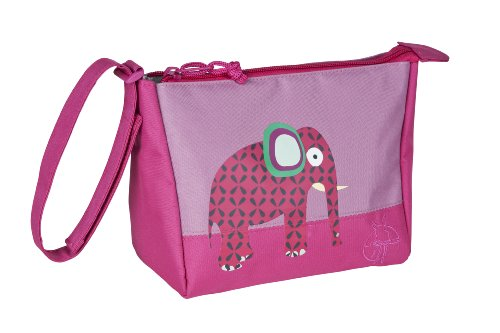 Lässig Mini Washbag Kulturtasche/Waschbeutel, Wildlife Elephant