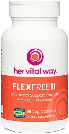 FlexFree II Vegan Chondroitin/Glucosamine/MSM Joint Support
