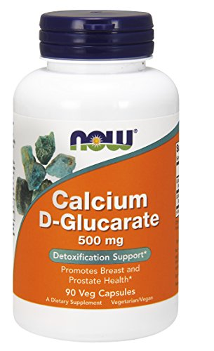 NOW Calcium D-Glucarate 500 mg,90 Veg