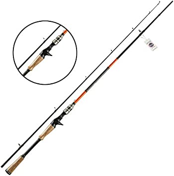 JOHNCOO Ruffy Caña de Pescar Spinning Rod 1.98m/ 2.1m/ 2.4m ...