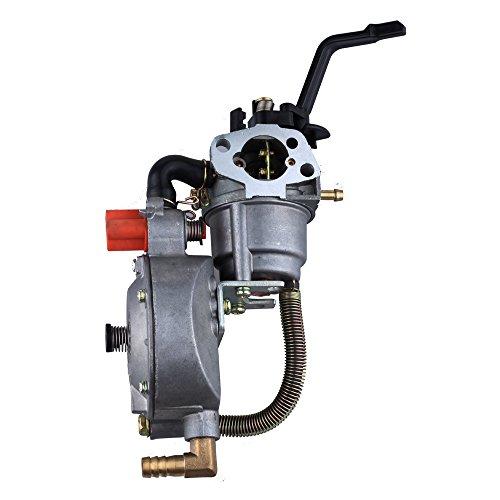 (HIPA Generator Dual fuel carburetor LPG NG conversion kit 2KW GX160 168F manual choke)