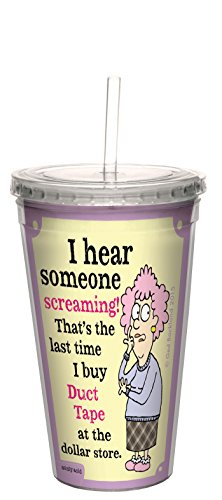 tree-free-greetings-16-ounce-cool-cup-with-reusable-straw-aunty-acid-dollar-store-duct-tape-cc98600