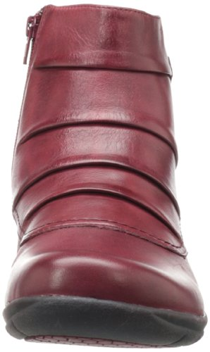 Bride Leather De Club Cheville Clarks Femme Bordeaux Christine Fq4nU