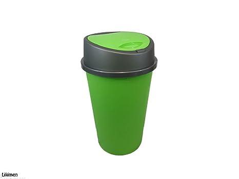 Nuovo colore verde mela touch top Bin/pattumiera/cucina/casa ...