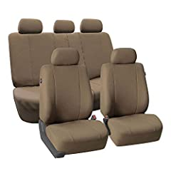 Drive around in style like a boss with this supreme design. No distracting patterns. No bright colors. Just simple, executive elegance to show everyone you mean business. Our high quality fabric is backed by 3mm of breathable foam padding to ...
