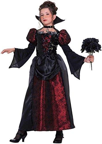 [Forum Novelties Little Designer Collection Vampire Miss Child Costume, Small] (Little Vampire Costume)