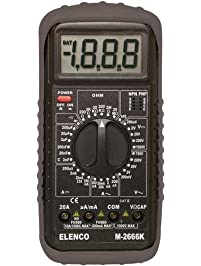 Elenco - Deluxe Full Function Digital Multimeter Kit (M-2666K)