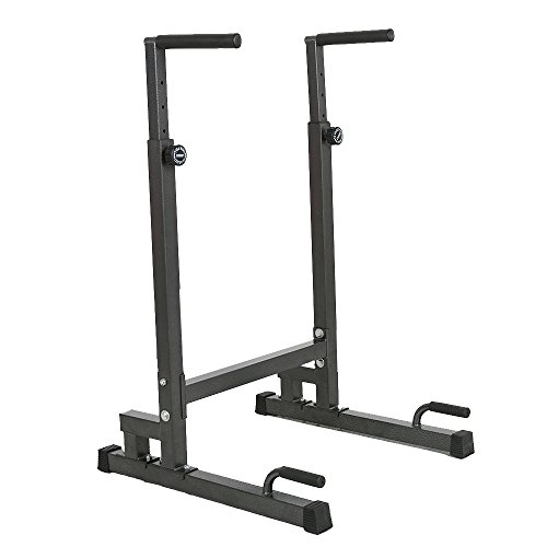 Lucky Tree Adjustable Dip Station Strength Training