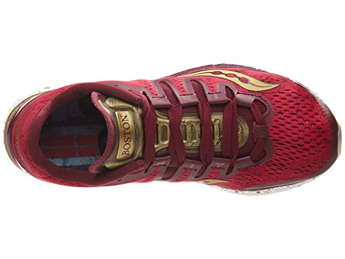 Saucony Damen Freedom ISO Laufschuh rot