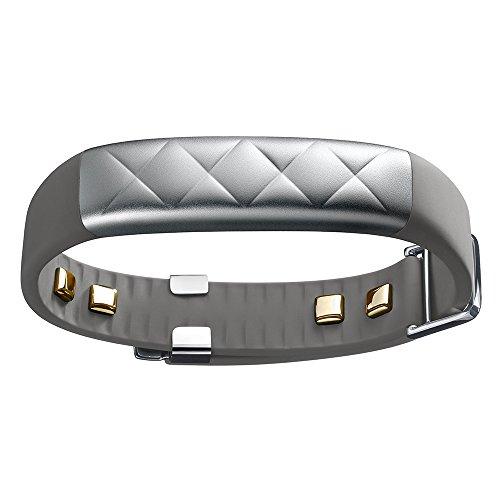 Jawbone UP3 Bluetooth Aktivitäts-/Schlaftracker-Armband (für Apple iOS und Android) silber