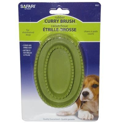 Safari Rubber Curry Brush (Madison Comb)