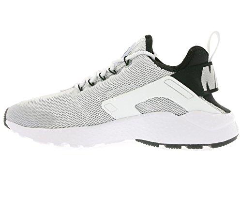 Nike Femmes Air Huarache Ultra Chaussures De Course Blanc / Blanc-noir