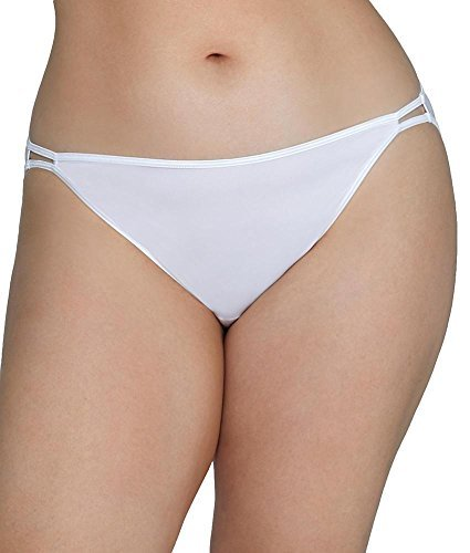 Vanity Fair Women's illumination Plus Size Bikini Panty 18810, Star White, 3X-Large/10