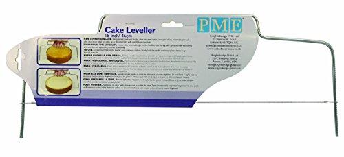 Knights Bridge Global PME CL18 Adjustable 18 Cake Slicer/Leveller, Inch
