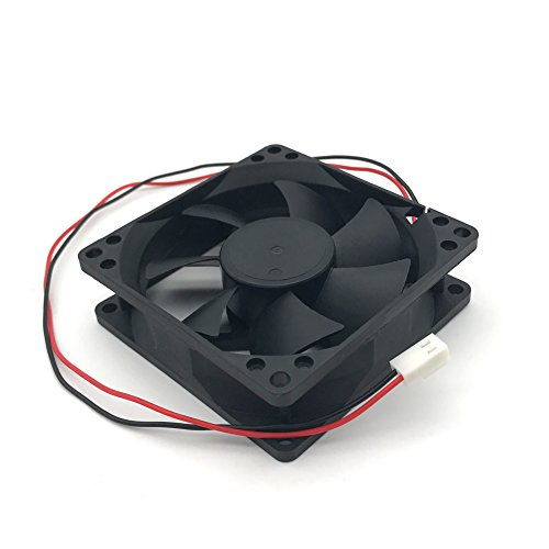 D80SH-12C 12V 0.21A 8020 8CM 2 wire power supply cabinet cooling fan by Sungee (Image #5)