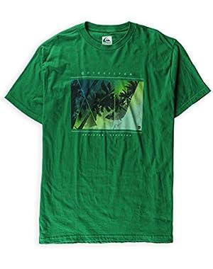 Men's Mystic Slim Fit Graphic T-Shirt Green
