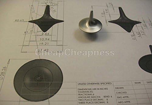 Alliage de Zinc Argent AJOYC Accessoires de Gyroscope pr/écis Totem Vintage