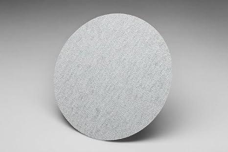 Pack of 50 Gray 3M Hookit Paper Disc 426U Silicon Carbide 5 Diameter 150 Grit 5 Diameter Hook and Loop