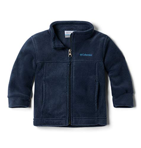 (Columbia Youth Boys' Steens Mt II Fleece Jacket, Soft Fleece with Classic Fit , Collegiate Navy , Medium (10/12))