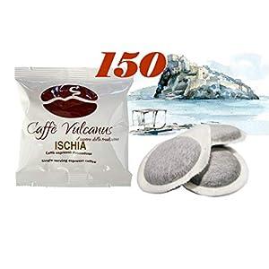 Caffè Vulcanus - 150 cialde ESE44 - Miscela Ischia