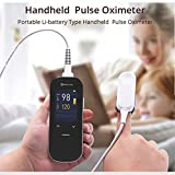 WYLDDP Handheld Pulse Oximeter, Monitor Pulse