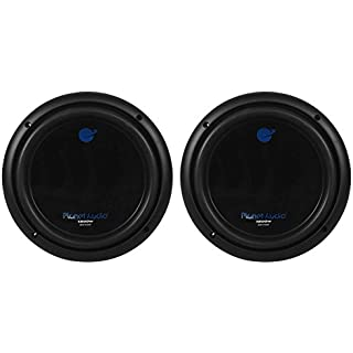 Discount 2) PLANET AUDIO AC10D 10' 3000W Dual 4Ohm Voice Coil Car Stereo Audio Subwoofers