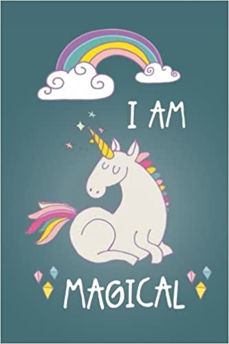 i am magical unicorn journal for women teens and girls filled with inspirational quotes blank lined unicorn writing journal