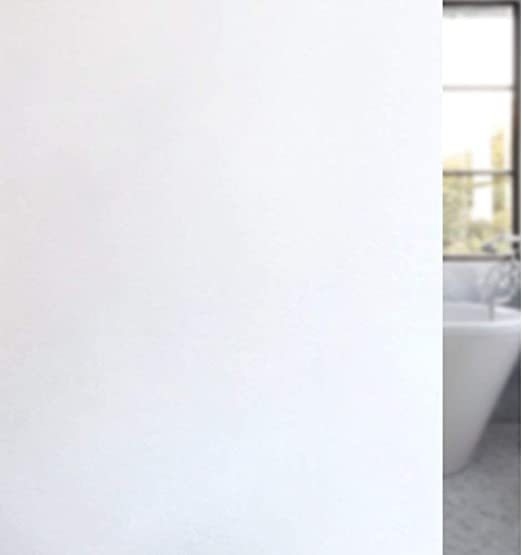 """Privacy Window Film Matte White Frosted Static Cling Glass 17.7/"""" x 78.7/"""""""