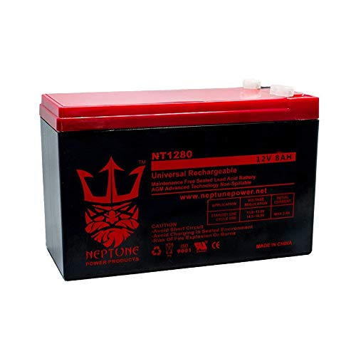 (Verizon FiOS GT12080-HG 12V 8Ah GS Portalac Battery Replacement PX12072HG by)