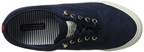 Bleu Femme Navy Hilfiger Baskets Tommy 1b WMN Tommy Y1285armouth ZwxXZY