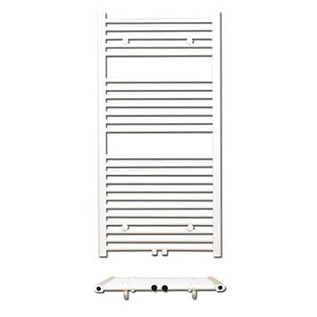 Radiador de baño DH - recto - Radiador-calentador de toallas Toalla Radiador Toallero Altura 1600 mm, conector Conexión Central: Amazon.es: Bricolaje y ...
