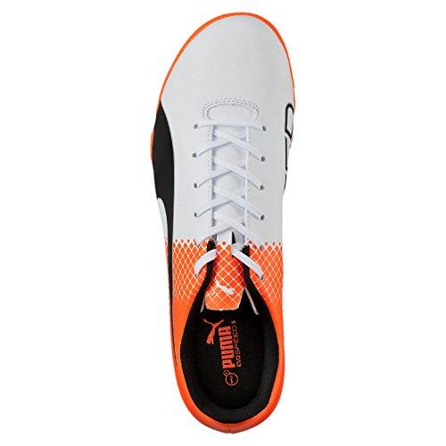 Mens EVOSPEED SHOES SOCCER Puma Puma 5 Puma TURF Shocking 05 103591 Black White 5 Orange 5rfw5YRxq