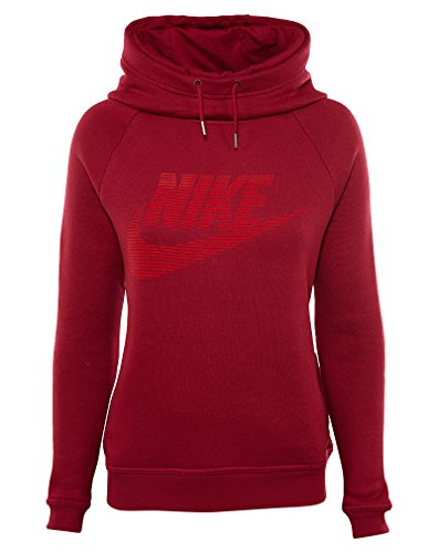 Nike Sportswear Rallye À Capuche Femme Bourgogne