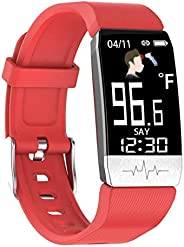 Fitness Tracker, Activity Tracker Smart Watch with Heart Rate Monitor, 1.14 Inch Color Screen Pedometer Watch