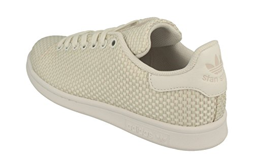 Unisex Top Trainer Adults' Stan Cg3789 Linen White Smith adidas Originals Low 41HUW5