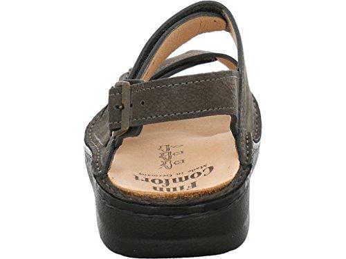 Finn Comfort 81528-518218 - Sandalias deportivas de Piel para hombre gris gris 39